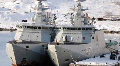 """乌克兰海军可能会补充"""" Knud Rasmussen""""等丹麦巡逻舰"""