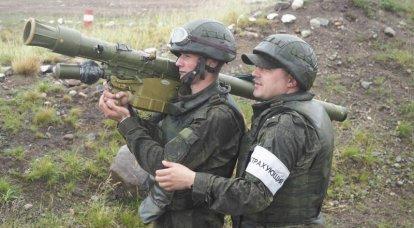 """「手動」防空システム 6の一部 MANPADS """"イグラ"""""""