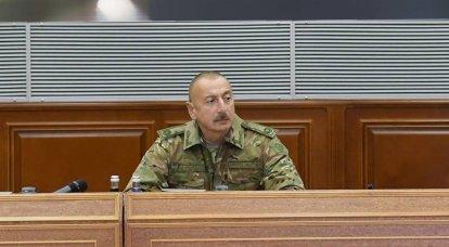 """阿利耶夫(Aliyev)是否下令强攻斯特凡纳克特(Stepanakert):""""红线""""的思考"""