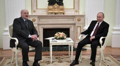 Putin nahm den Anruf aus Minsk entgegen