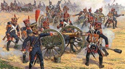 Artillería del Gran Ejército de Napoleón: Tácticas de combate de artillería