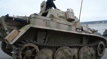 Veicoli corazzati veloci da guerra: carro armato Panzerkampfwagen II versione D