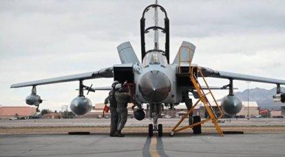 Tornado da Força Aérea Alemã faz bombardeio errôneo perto das fronteiras da Holanda