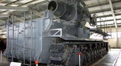 巨大な第二次世界大戦-自走砲「カール」
