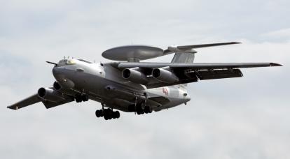 AWACS vs.A-50: Air Combat in Europe