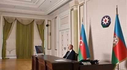 O presidente do Azerbaijão falou sobre a questão da concessão de autonomia aos armênios de Karabakh