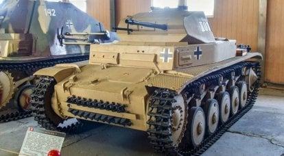 Segundo os documentos dos desenvolvedores, ele passou como um trator: sobre o tanque alemão Panzerkampfwagen II