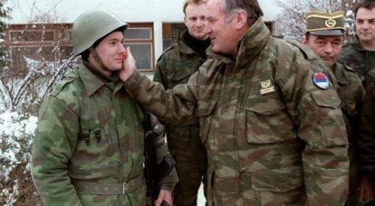 塞尔维亚爱国者将军R.Mladić