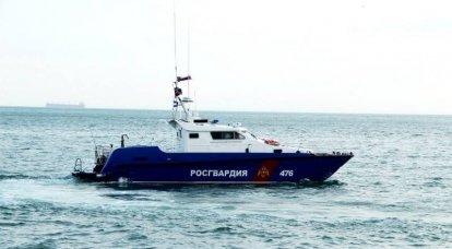 Rosgvardia recibió seis barcos de la clase Sargan para operar en el estrecho de Kerch