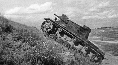 Kazan, 1942. Sovyet test silahının altındaki tanklar