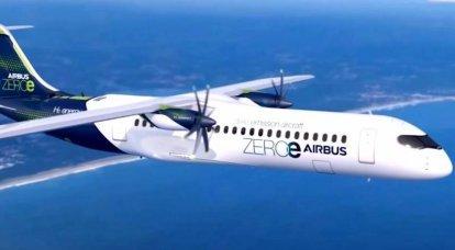 Europa erwägt Optionen für die Schaffung eines Flugzeugs mit einem Wasserstoffmotor