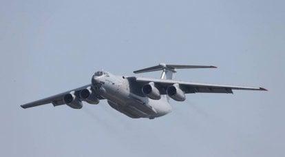 军用运输机 Il-76MD-90A 可认证用于民用市场