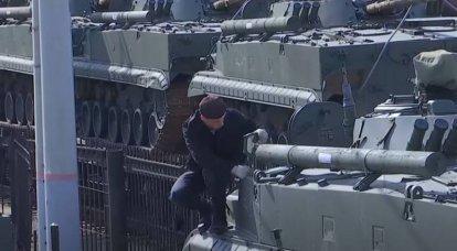 Um grande lote de novos BMP-3 entrou em serviço com o corpo do exército em Kaliningrado