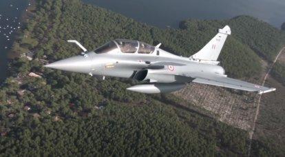 La Fuerza Aérea de la India recibe el quinto lote de cazas Rafale franceses