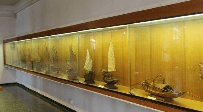 ベニス海軍歴史博物館。 「船場」への遠足