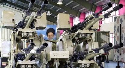 """防空小口径自动化艺术综合体""""Mesbah-1""""(伊朗)"""
