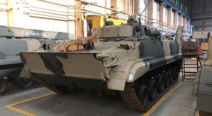O Ministério da Defesa emitiu um novo contrato para a produção de BMP-3