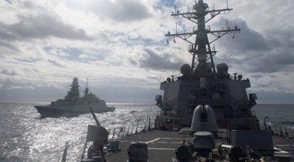 """Especialistas ocidentais: """"O Mar Negro é um"""" campo de tiro """"russo, e os navios da Marinha dos Estados Unidos são alvos fáceis nele"""""""