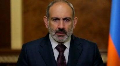 Pashinyan : 최근 훈련에서 아제르바이잔과 터키는 군사 작전을위한 옵션을 마련했습니다.