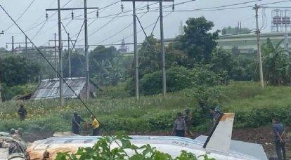 म्यांमार में सैन्य परिवहन विमान दुर्घटनाग्रस्त