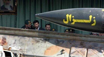 イランのミサイルの想像上のそして本当の危険