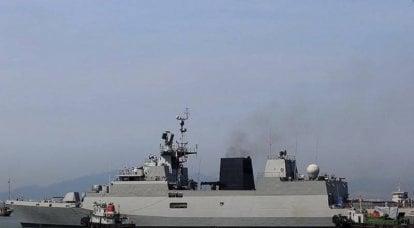 La Marina indiana ha adottato l'ultima corvetta antisommergibile di classe Kamorta della serie