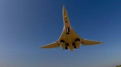 Tu-160 전략 폭격기는 개선 된 엔진을 받게됩니다.