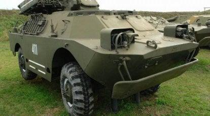 """团体自行式防空导弹系统""""Strela-1"""""""