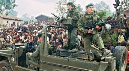 Opérations de combat de la Légion étrangère dans la seconde moitié du XNUMXe siècle