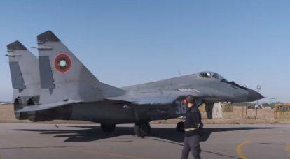 El Ministerio de Defensa de Bulgaria tiene la intención de rescindir el contrato con Rusia para la reparación de los cazas MiG-29.