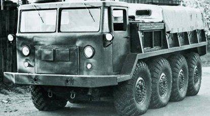 Veicolo fuoristrada esperto ZIL-134