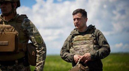ज़ेलेंस्की ने डोनबासी में संपर्क लाइन पर यूक्रेन के सशस्त्र बलों के पदों का दौरा किया