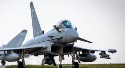 ウクライナの報道:イギリス空軍は、飛行場の代わりに高速道路を使用して、ウクライナ軍の例に従っています