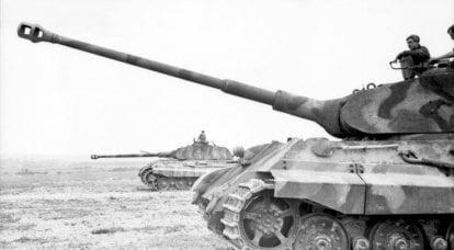 レバーと大砲。 「ロイヤルタイガー」クビンカでの裁判