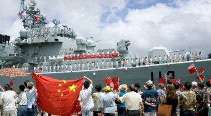 「ドラゴン」対「イーグル」。 米国と中国の艦隊の比較