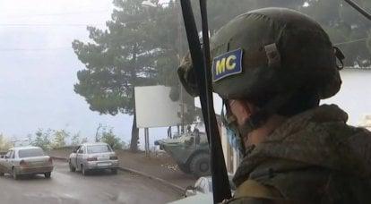 国防省はロシア軍の平和維持部隊の数を増やしています