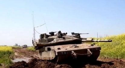 """""""梅尔卡瓦"""":以色列坦克的现代化方式"""