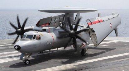 E-2D Advanced Hawkey anstelle von E-2C Hawkeye: Französische Wechselflugzeuge AWACS