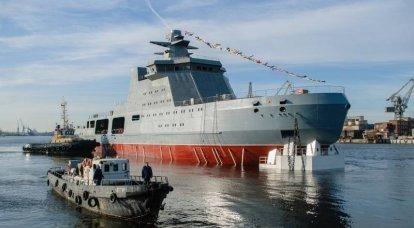 Marinha russa pretende armar-se com quebra-gelo de combate