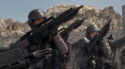 アメリカの宇宙軍団は軍の願いに反して作られています