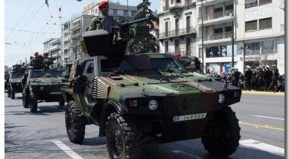 轻型装甲侦察车VBL(VéhiculeBlindéLéger)