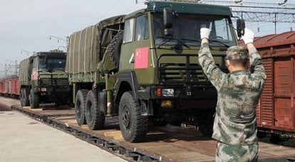 """Military equipment of the PLA was delivered to Tuva to participate in the """"Military Rally"""" competition ARMI-2021"""