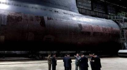 """दक्षिण कोरियाई खुफिया: डीपीआरके ने एक """"गुप्त"""" पनडुब्बी का निर्माण पूरा कर लिया है"""