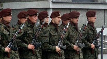 ポーランドの若者は軍隊で奉仕しようとしています
