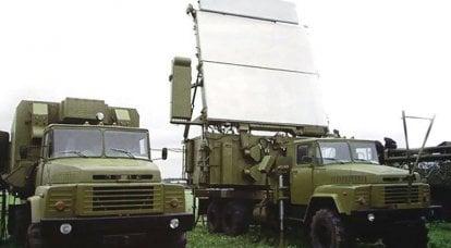 """防空和空军武器 -  64L6移动雷达""""Gamma-С1"""""""