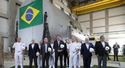 Il Brasile inizia a montare il primo reattore nucleare per un sottomarino nucleare domestico