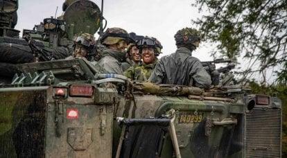 Reclutas y soldados por contrato: características del sistema de dotación de las fuerzas armadas suecas