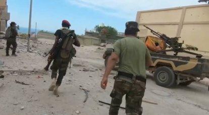 LNA birliklerinin batı Libya'daki Zaltan şehrinin kontrolünü ele geçirdiği bildirildi