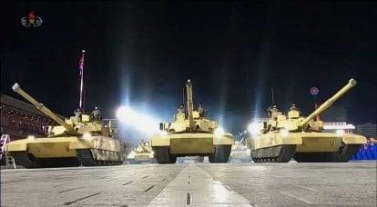 朝鲜展示了有前途的主战坦克