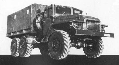 ウラル-375:戦車の理想